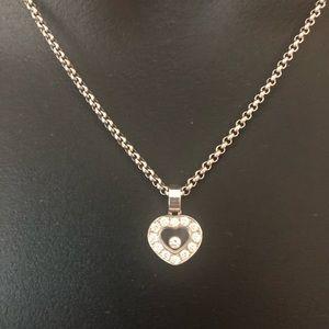 Jewelry - Chopard Happy Diamond Icon Necklace